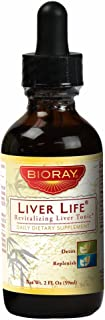 Liver Detoxifier Herbal Supplement by Bioray | Liver Life May Increase Metabolism and Energy Levels, Improves Detox and Nu...