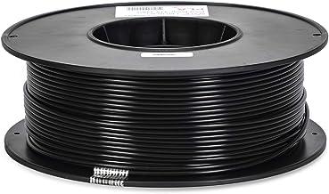 Inland 2.85mm Black PLA 3D Printer Filament - 1kg Spool (2.2 lbs)