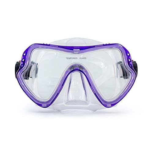 408881160137 CACACOL Swimming Scuba Mask Diving Mask Free Diving Glasses Snorkeling Mask  Snorkel Goggles with Tempered Anti