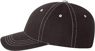 Flexfit Premium Original Contrasting Stitch Blank Baseball Hat Cap Fitted 6386
