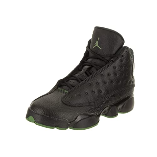 online store fee6a 47bdd Black and Green Jordan's Shoes: Amazon.com