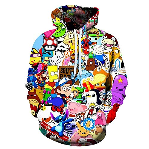 Spring and Autumn Men's Hoodie
