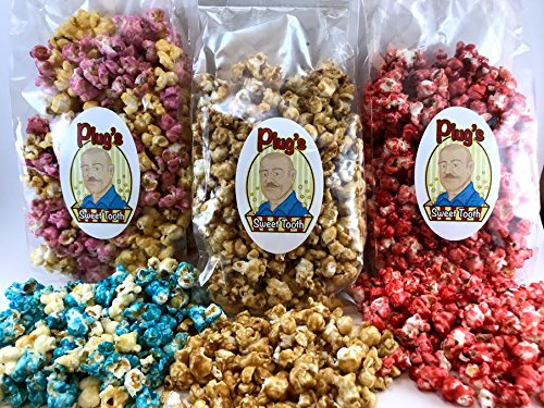 Best Bargain Plug's Sweet Tooth Gourmet Popcorn Sugar Rush Trio