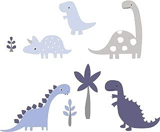 Bedtime Originals Roar Dinosaur Wall Appliques, Blue/Gray (Fivе Расk)