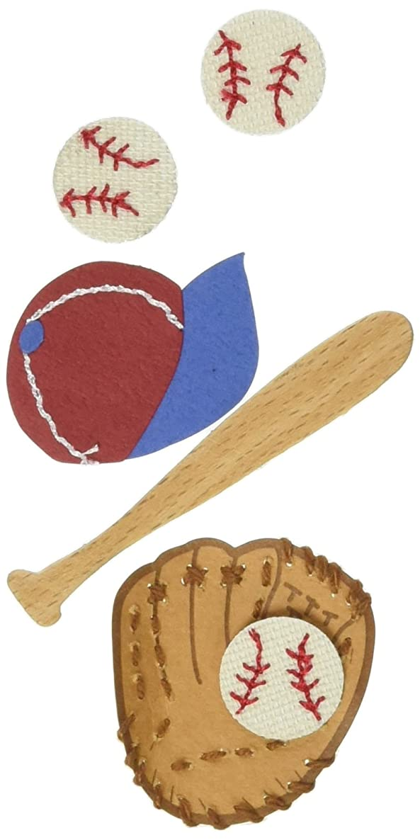 Jolee's By You Dimensional Sticker, Baseball