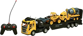 Lixiong Sheng Loaders Transport Truck with Remote Control for Boys - Multi Color