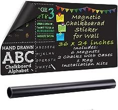ZHIDIAN Magnetic Chalkboard Contact Paper, 36
