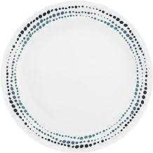 """Corelle Livingware Ocean Blues 10.25"""" Dinner Plate (Set of 6)"""