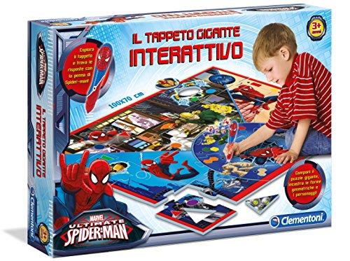 Clementoni 13276 - Spiderman Ultimate Tappeto Gigante Interattivo