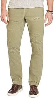 Men's Cotton Herringbone Straight Fit Pants