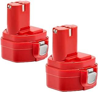 Roally 3.6Ah Replacement for Makita 12v Battery PA12 1220 1200 1201 1222 1233 1233S 1233SA 1233SB 1235 192681-5 12 12 Volt Cordless Power Tools 2 Pack