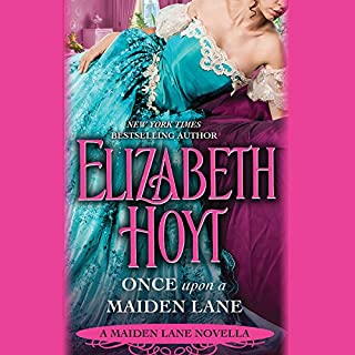 Once Upon a Maiden Lane audiobook cover art