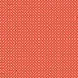 Baumwollstoff Pünktchen Orange Webware Meterware Popeline