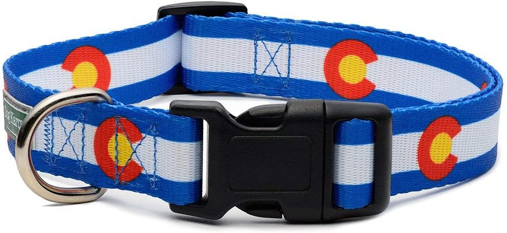 Colorado State Flag NEW before selling ☆ Collar Dog NEW before selling ☆