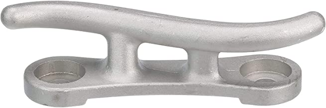 "MarineNow Cast Aluminum S Dock Cleat 10"", 12"" or 15"" Pack Size 1, 2, 4, 6 and 10 Corrosion Resistant"