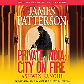 Private India: City on Fire cover art