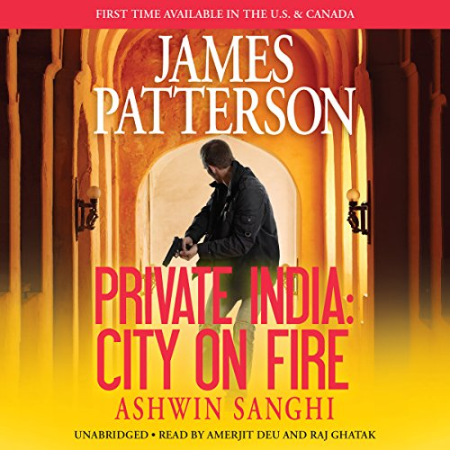 Private India: City on Fire audiobook cover art