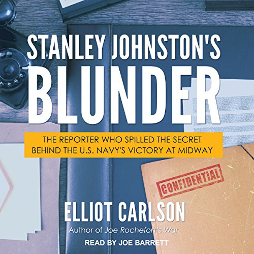 Stanley Johnston's Blunder audiobook cover art