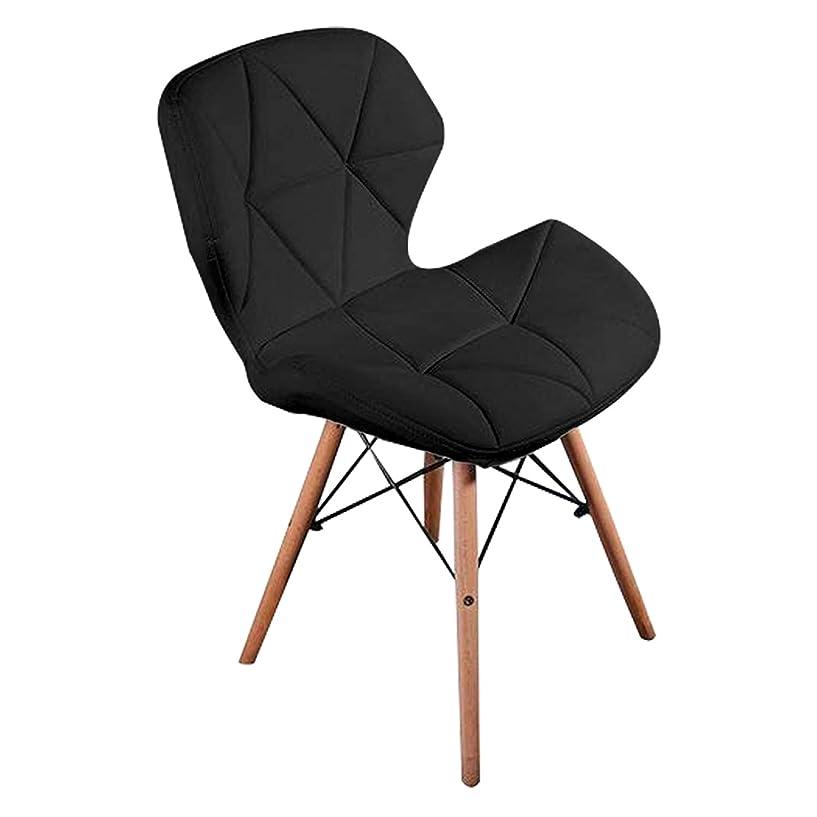 褐色以前は地球ダイニングチェア レーダーチェア イス チェア 北欧 おしゃれ 人気 リプロダクトイームズ椅子 (ブラック)