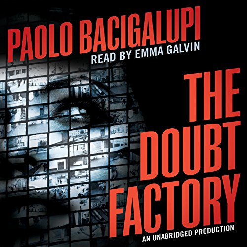 The Doubt Factory audiobook cover art