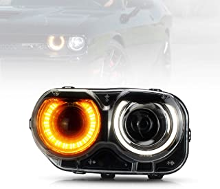 dodge challenger srt8 headlights