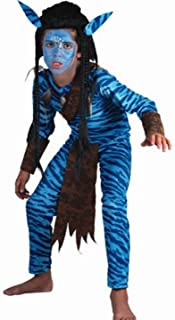 Fyasa 706040-t03Jungle Warrior disfraz, tamaño