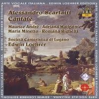 Scarlatti:Cantate - Societa Cameristica di Lugano/Loehrer