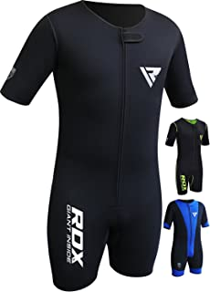 RDX Sauna Suit for Gym Workout, Fitness Training and Slimming Exercises, Neoprene Sweat Vest Shirt for Men Women Weight Lo...