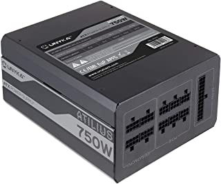 UNYKA GAMING Fuente ALIMENTACION ATX ATILIUS 750W 85% Eficiencia APFC 140mm Full Modular