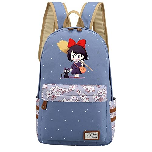 Siawasey Anime Kiki's Delivery Service Bookbag Backpack School Bag