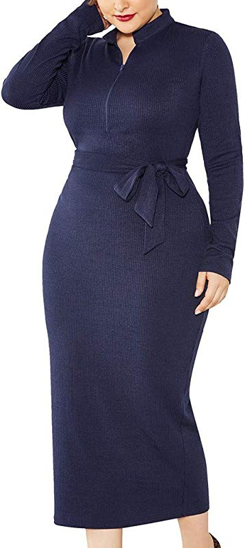 PerfectCOCO Tight Dress Fashion Knitted Dress For Women Large Size Long Sleeve Wrap Dress Elegant Charming Ball Gown