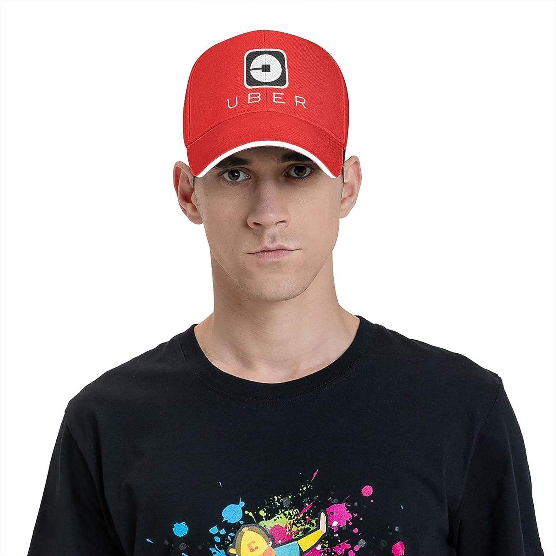 Uber-Eats Hat Unisex Washed Trucker Cap Adjustable Snapback Running Sports Dad Hat
