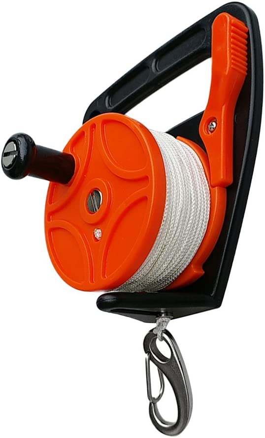 Kesoto Ranking TOP2 Scuba Diving Reel Distance 150ft Line 46m Challenge the lowest price Ge Snorkeling