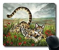 Tigerマウスパッド001 300*250*3 mm