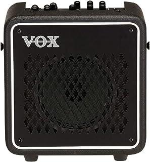 VOX エレクトリック・ギター用 10W モデリング・アンプ MINI GO 10 自宅練習 持ち運び マイク入力 ヘッドホン出力 エフェクト リズム・マシン ルーパー MP3接続 モバイル・バッテリー対応