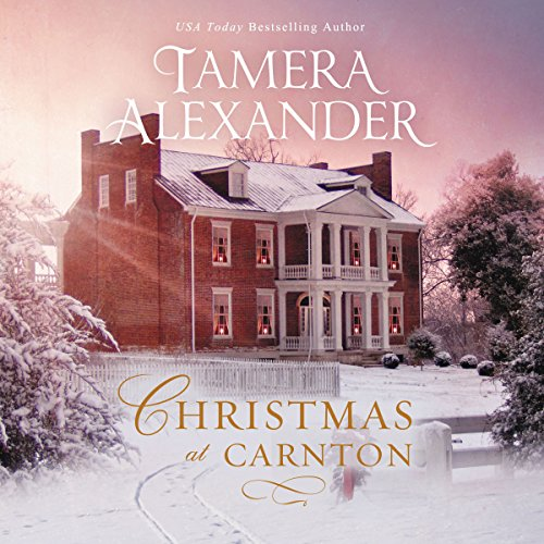 Christmas at Carnton audiobook cover art
