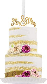 HMK Hallmark Wedding Cake Dated 2019 Tree Trimmer Ornament
