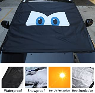 Sun Shade Windshield Cover Waterproof Frost Protector Windshield Sunshade Magnetic Eyes for Car Honda Nissan Toyota SUV Jeep