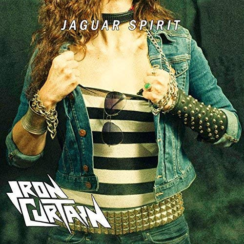 Iron Curtain: Jaguar Spirit (Trans.Swamp Green Vinyl,Lyric ) [Vinyl LP] (Vinyl)