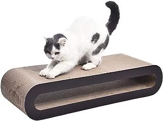 AmazonBasics Oval Cardboard Cat Scratcher Lounger