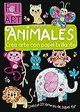 ANIMALES. Crea arte con papel brillante