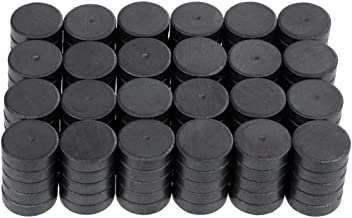Anpro 120 Pcs Strong Ceramic Industrial Magnets Hobby Craft Magnets-11/16 Inch (18mm) Round Magnet Disc for Refrigerator Button DIY Cup Tiny Magnet Craft Hobbies, Science Projects & School Crafts