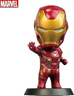 MARVEL(マーベル) 車内の置物 アイアンマン Iron Man 車アクセサリー 車載揺れる 車内 装飾 樹脂人形家装飾 家族 子供 友人 恋人 誕生日 記念日 プレゼント(マーベル認定製品) アイアンマン