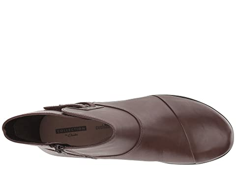 Cody Black Leather Hope LeatherBrown Clarks wqag5Hzz