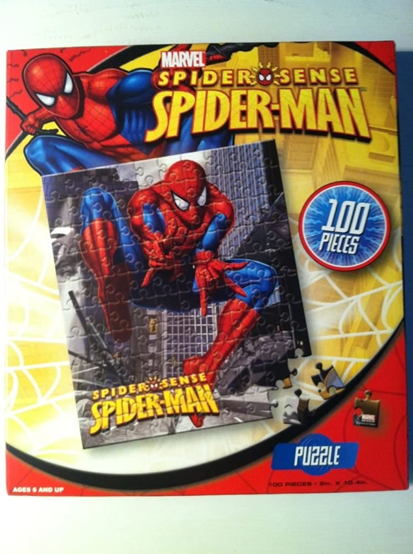 Marvel Spider Sense SpiderMan  100 Piece Puzzle