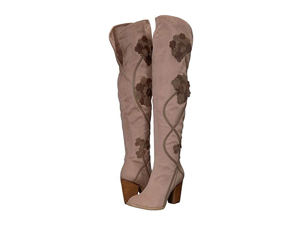 Not Rated Alexis (Taupe Microfiber) Women