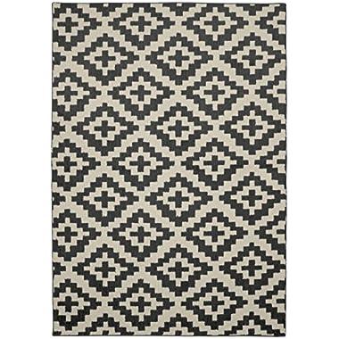 Garland Rug Southwest Area Rug, 5 x 7, Cinder/Ivory