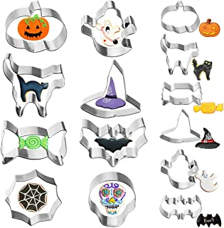 small metal halloween cookie cutters