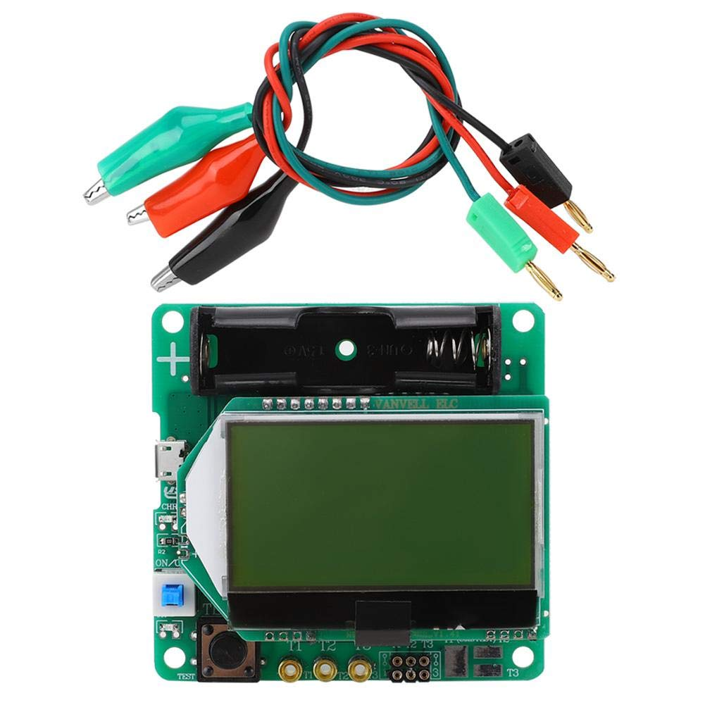 PNP NPN Diode Meter Professional Transistor ESR Max 72% OFF wit Tester Quality inspection
