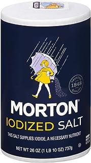 Morton Salt, Iodized, 26 Ounce